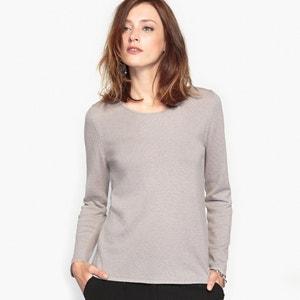 Jersey con cuello redondo, lana & alpaca ANNE WEYBURN