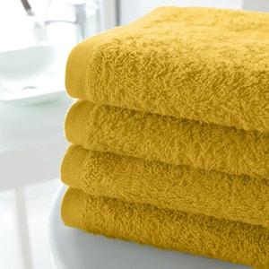 Pack of 4 Cotton Guest Towels, 500g/m² SCENARIO