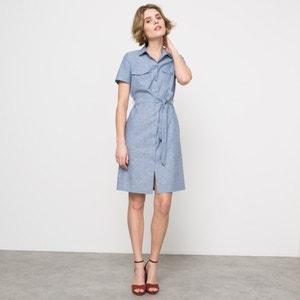 Shirt Collar Utility Dress atelier R