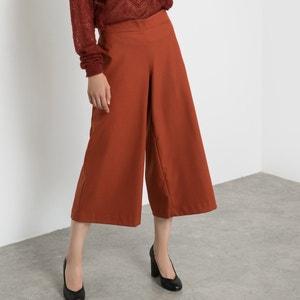 Falda pantalón efecto franela R essentiel