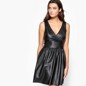 Robe longueur genou en polyester, sans manches R Edition