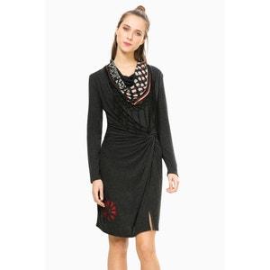 Платье прямое с разрезом, Vest Shelby DESIGUAL