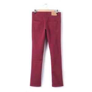 Slim Fit Twill Trousers, 10 - 16 Years R essentiel