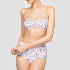 Bedrukte hoge bikinislip R édition