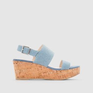 Sandales plateforme liège R Edition