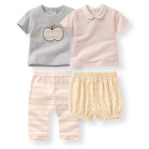 Confezione da 2 pigiama 2 pezzi in cotone 0 mesi - 3 anni R mini
