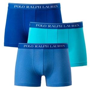 Boxers, lote de 3 POLO RALPH LAUREN
