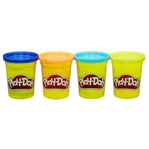 Pâte à modeler PlayDoh : Pots bleu foncé, orange, bleu, vert PLAY DOH