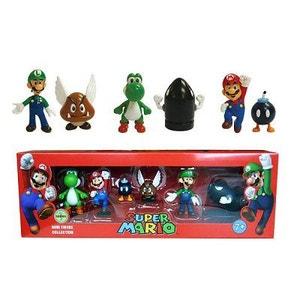 Figurine Nintendo Mario Bros : Pack de 6 figurines ABYSSE CORP