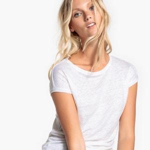 Linen T-Shirt La Redoute Collections