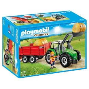 Tracteur avec Pelle et Remorque - PLA6130 PLAYMOBIL