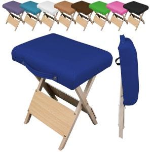 Chaise, Siège, Tabouret pliant pliable en bois - 9 coloris VIVEZEN