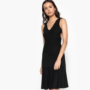 Plain Sleeveless Short Skater Dress La Redoute Collections