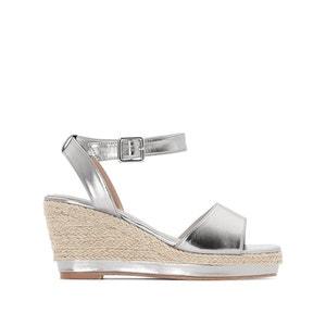 Sandalen met sleehak, brede voet 38-45 CASTALUNA