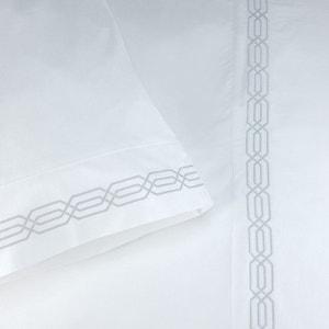 Taie d'oreiller Ancre - blanc - gris perle BAILET