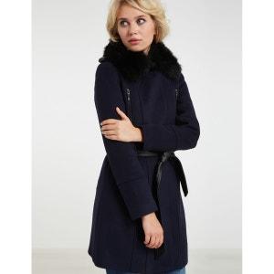 Manteau mi-long à capuche MORGAN