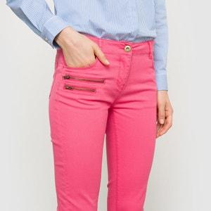 Pantalon 7/8ème zippé La Redoute Collections