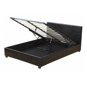 lit coffre 160x200 la redoute. Black Bedroom Furniture Sets. Home Design Ideas