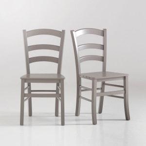 Chaise lattée, Perrine (lot de 2) La Redoute Interieurs