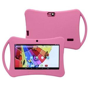 Tablette enfant 7 pouces Android 5.1 Bluetooth Quad Core 72Go Rose Yonis