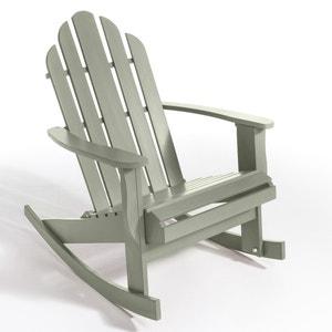 Rocking chair de jardin Théodore, style Adirondack AM.PM.