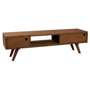 Meuble TV en bois avec rangement L140cm FANNY PIER IMPORT