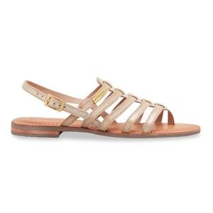 Leren sandalen met teenstukje Hariette LES TROPEZIENNES PAR M.BELARBI