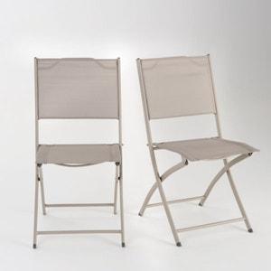 Chaise de jardin pliantes (lot de 2) LES PETITS PRIX
