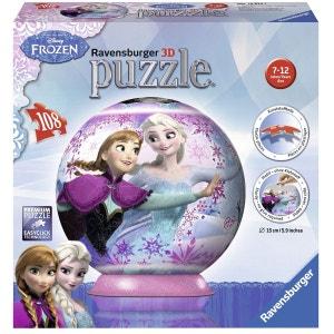Puzzle ball 108 pièces : La Reine des Neiges (Frozen) RAVENSBURGER