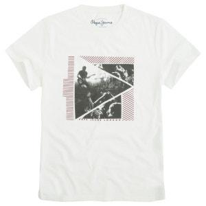 T-shirt imprimé manches courtes PEPE JEANS