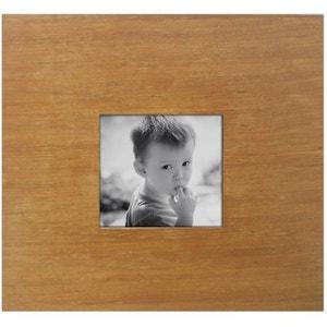 Cadre photo en bois 1 miniature exotique JARDINDECO