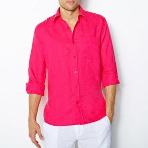 Camisa lisa puro linho R REFERENCE