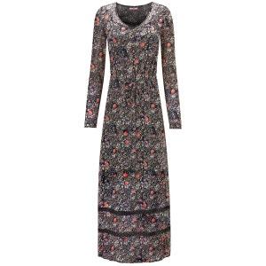Robe longue de style festival en tissu transparent superposé à un caraco Joe Browns Femme JOE BROWNS