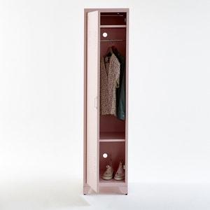 Armario vestuario americano de una puerta de metal Hiba