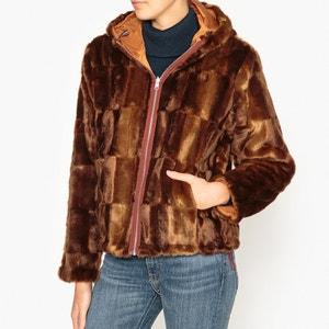 Manteau à capuche reversible BELLEROSE