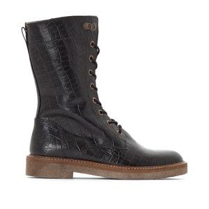 Boots in leer Oxmax