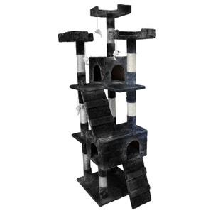 Griffoir arbre à chat 170 cm - Noir BEAUTY PET
