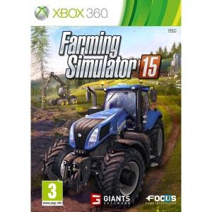 Farming Simulator 15 XBOX 360 FOCUS HOME INTERACTIVE