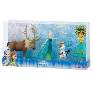 Coffret de figurines La Reine des Neiges (Frozen) : Une fête givrée BULLYLAND