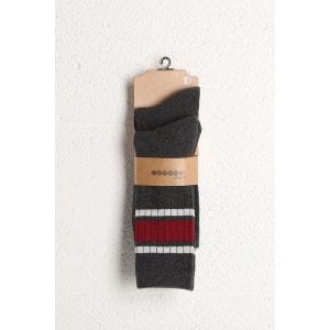 Lot de 2 paires de chaussettes homme BONOBO