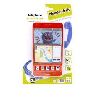 Téléphone Grand Ecran pour enfant WONDERKIDS