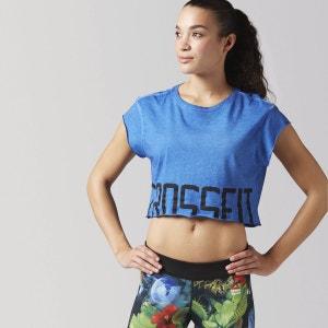 T-shirt crop Reebok CrossFit Washed REEBOK SPORT