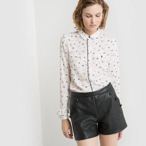 Long-Sleeved Fox Print Shirt MADEMOISELLE R