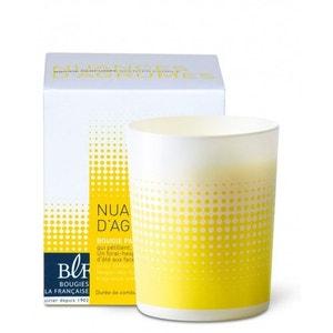 Coffret bougie parfumée jaune 40h nuances d'agrumes BOUGIES LA FRANÇAISE