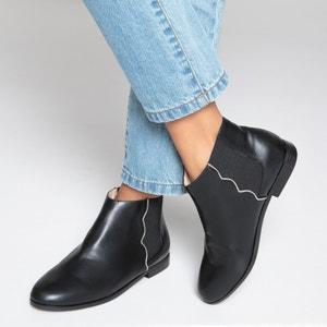 Ботинки-челси с волнистыми швами La Redoute Collections