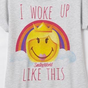 Pyjama imprimé, Smiley, manches courtes SMILEY