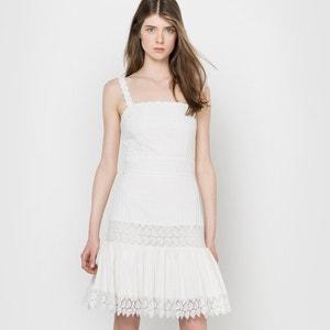 Vestido corto de tirantes DELPHINE MANIVET X LA REDOUTE MADAME