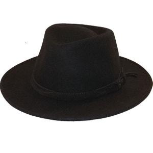 Chapeau fedora noir Houston CHAPEAU-TENDANCE