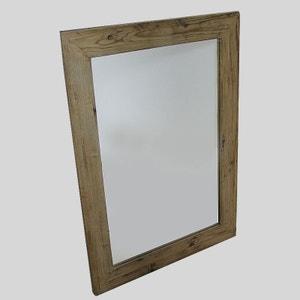 miroir petit modle authentiq naturel kh36na made in meubles - Petit Miroir Salle De Bain