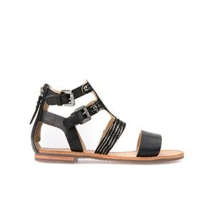 Sandálias subidas em pele D Sozy G GEOX